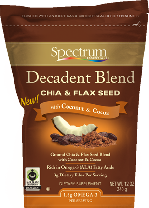 Decadent Blend Chia and Flax Seed