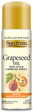 Grapeseed Oil Non-Stick Cooking Spray