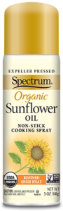 Organic Sunflower Oil Non-Stick Cooking Spray