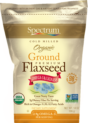 Organic Ground Flaxseed