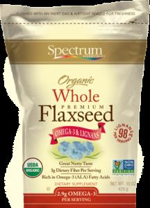 Organic Whole Flaxseed