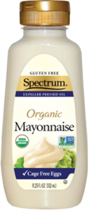 Organic Squeeze Bottle Mayonnaise with Cage Free Eggs