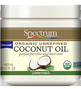 Organic Coconut Oil, Unrefined – Spectrum