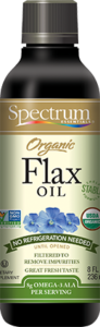 Organic Flax Oil, Shelf Stable Liquid